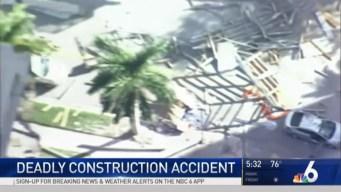 Investigation Underway in Brickell Construction Collapse