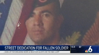 Pembroke Pines Street Dedication for Fallen Soldier
