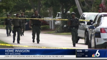 Search For Suspect in Key Biscayne Home Invasion