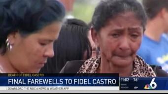 Cuba's Final Farewell to Fidel Castro As Ashes Trek Island