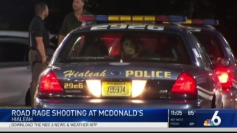 Road Rage Incident Causes Shooting at Hialeah Fast Food Store