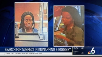 Police Searching For Suspects in Bank Kidnapping Robber