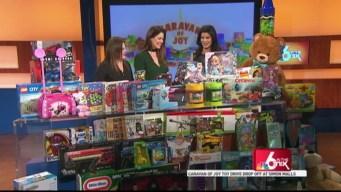 Simon Malls and Caravan of Joy Toy Drive