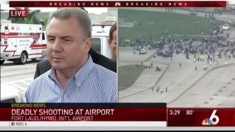 RAW: Officials Hold Press Conference on Shooting at Fort Lauderdale Airport