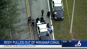 Body Found in Canal Near Miami-Dade, Broward Line
