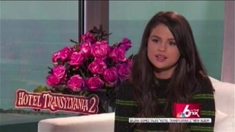 "Box Office Preview: Selena Gomez talks ""Hotel Transylvania 2"""