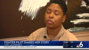 First Female African American Fighter Pilot Shares Her Story
