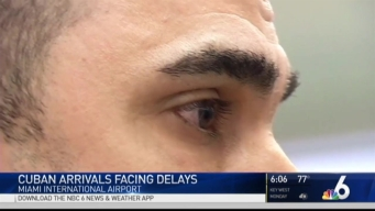Cubans Landing at Miami International Airport Face New Delays