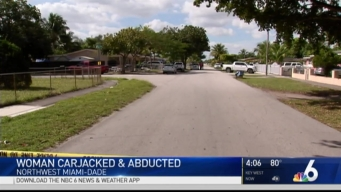 Miami-Dade Police Searching For Alleged Carjacker Who Kidnapped Mother, Baby