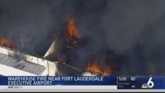 Fort Lauderdale Warehouse Destroyed By Fire