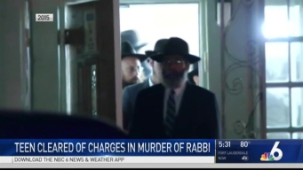 Teen in Court After Prosecutors Drop Charges in Rabbi's Murder