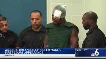 Suspect in Orlando Officer's Killing Curses at Judge