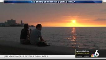 Congressman Curbelo Talks About Trump Inauguration