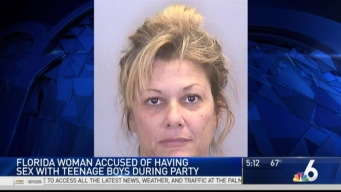 Florida Woman Accused of Having Sex With Underage Teens
