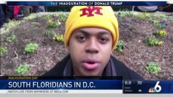 South Florida Millennials Attend Inauguration