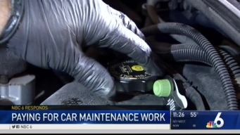 NBC 6 Responds: Paying For Car Maintenance Work