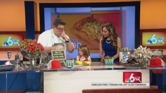 Izzy's Jamie DeRosa Hosts Healthy Family Cooking Class