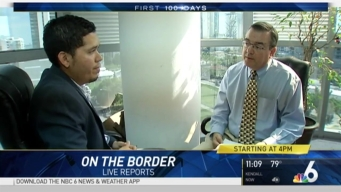 NBC 6 Takes You to The U.S.-Mexico Border as Debate Continues