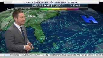 First Alert Weather - February 7th 5:45 AM