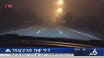 South Florida Dealing With Heavy Fog Thursday Morning
