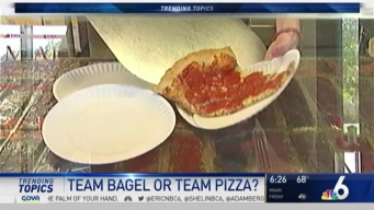 National Day for Pizza, Bagels Means Deals For Customers