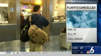 Winter Storm in Northeast Causing Problems For South Florida Travelers