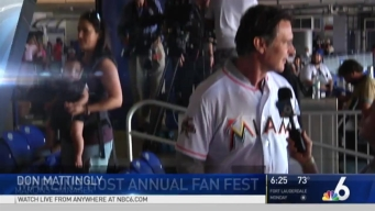 Miami Marlins Hold Annual Fan Fest
