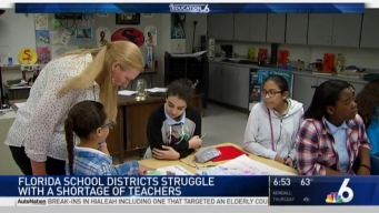 Teacher Shortage Expected in Florida