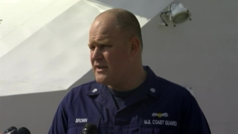 Press Conference For Missing Plane Off Florida Coast