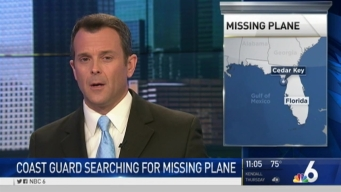 Crews Continue Search for Missing Plane off Florida Coast