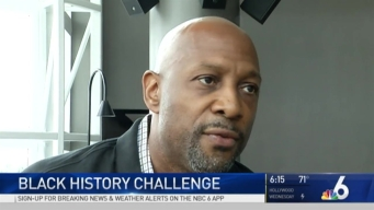 Students, Miami Heat Greats Participate in Black History Challenge