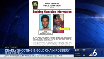 Man Killed for Gold Chain in Miami Gardens: Police