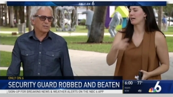 Security Guard Beaten, Robbed At Collins Park in Miami Beach