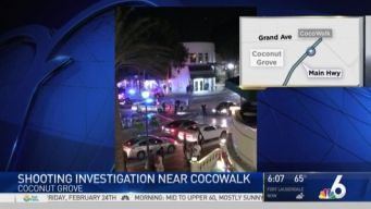 One Person Injured During Late Night Shooting in Cocowalk