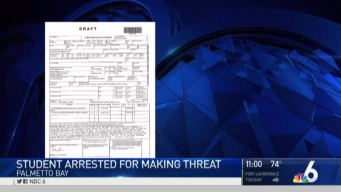 Teen Arrested For Making Death Threat