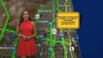 First Alert Traffic: Wednesday Overnight Closures