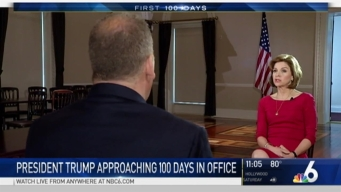 NBC 6 in DC as Trump Nears First 100 Days