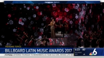 NBC 6 Recaps 2017 Billboard Latin Music Awards