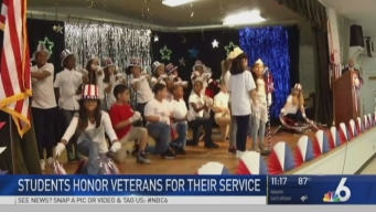 Veterans Honored by Students at Hollywood School