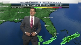 Breezy, Pleasant Weekend: 11/18/17 Forecast