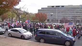 Puerto Ricans March in Washington, D.C.