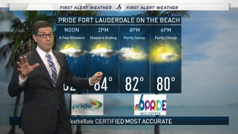 Pride Fort Lauderdale on the Beach Forecast