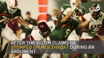 Former Miami QB Wanted For Alleged Key West Assault of Ex-GF