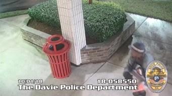 Davie Sprint Store Burglary Caught on Camera