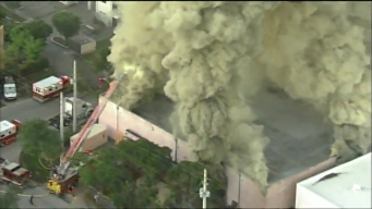 Fire Breaks Out in Hialeah Building for Second Time This Week