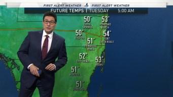 NBC 6 Evening Weather Dec. 9