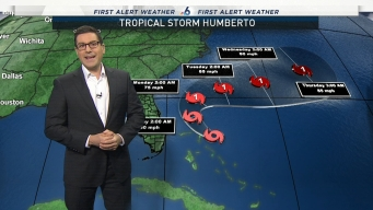 Humberto Could Become Hurricane, Looks to Stay Away From U.S.