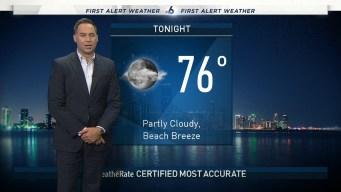 NBC 6 Evening Forecast: Oct. 12, 2019