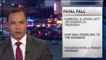 Woman Falls From Balcony on Cruise Ship