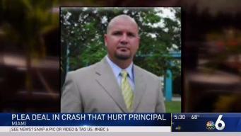 Woman Takes Plea Deal in Crash That Hurt Principal